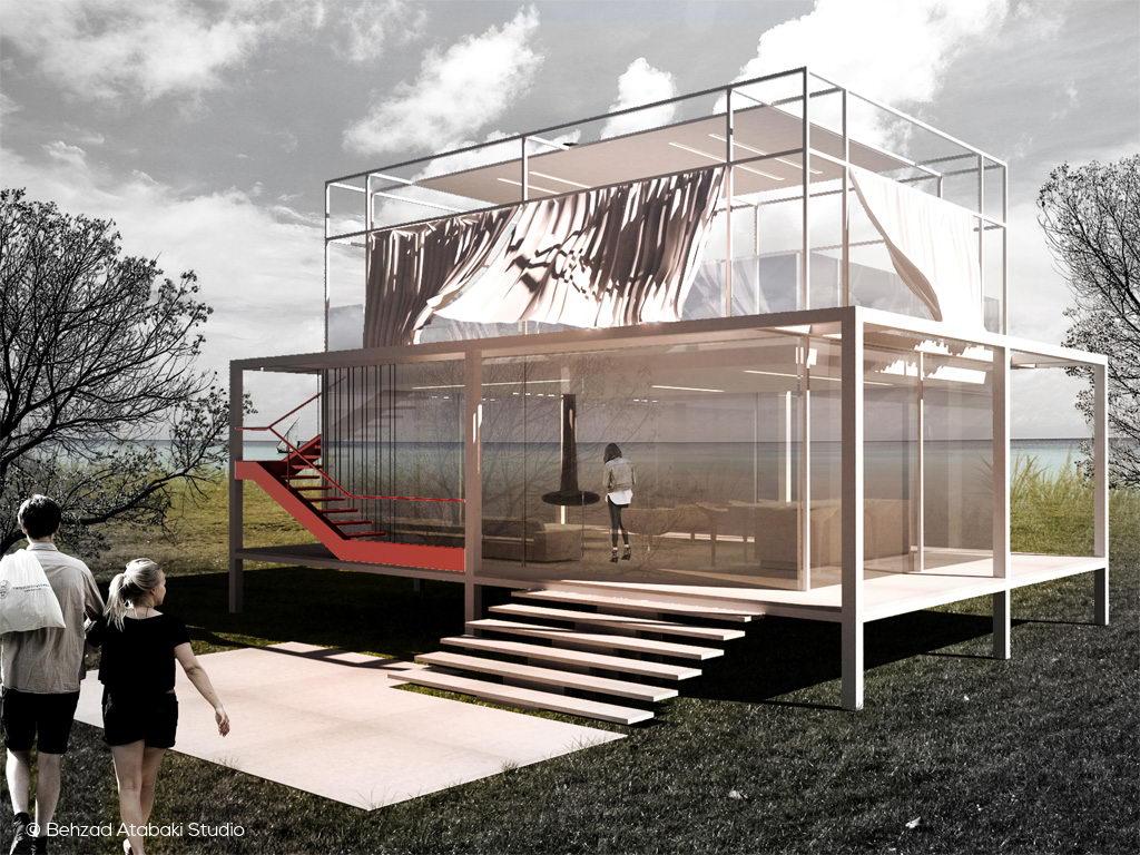 Beach Pavilion, www.behzadatabaki.com