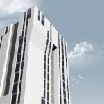 Tajikistan Office building alt.IV